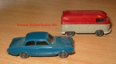 VW Bulli and Ford 17 M